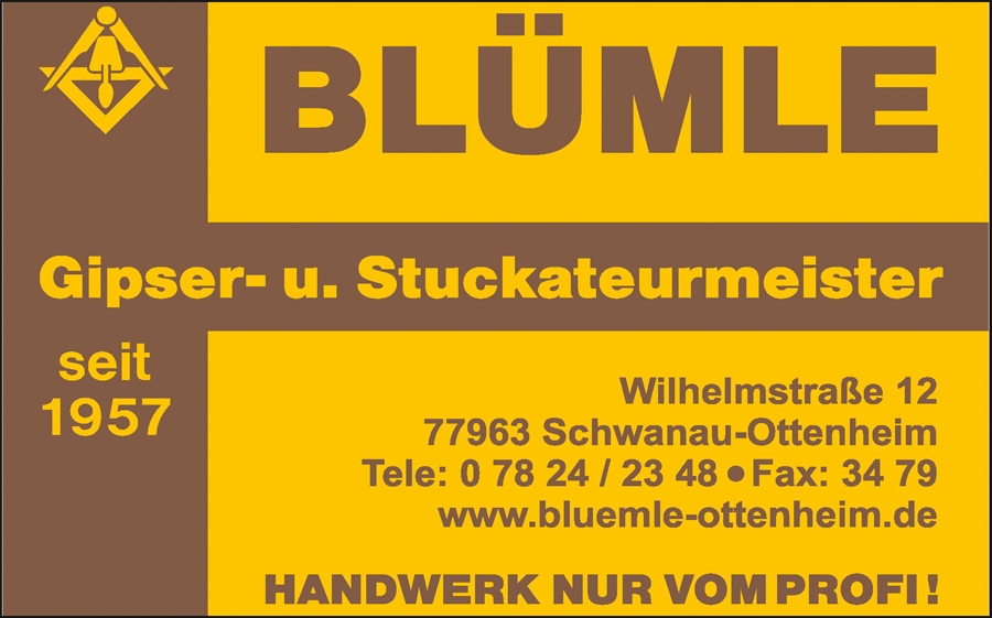 Blümle Gipser- u. Stuckateurmeister