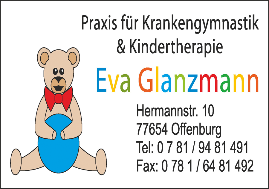 Krankengymnastik Eva Glanzmann Kindertherapie