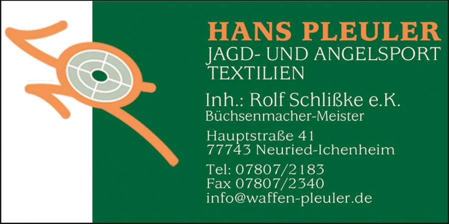 Hans Pleuler Jagd- & Angelsport • Bekleidung