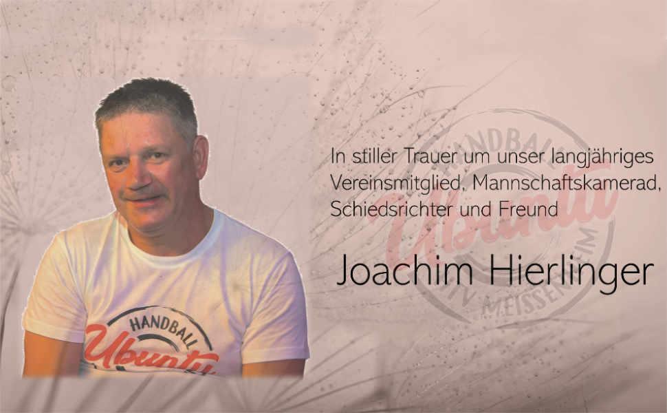 Nachruf: Joachim Hierlinger