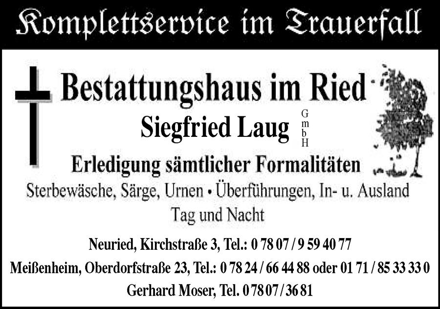 Bestattungsinstitut Siegfried Laug