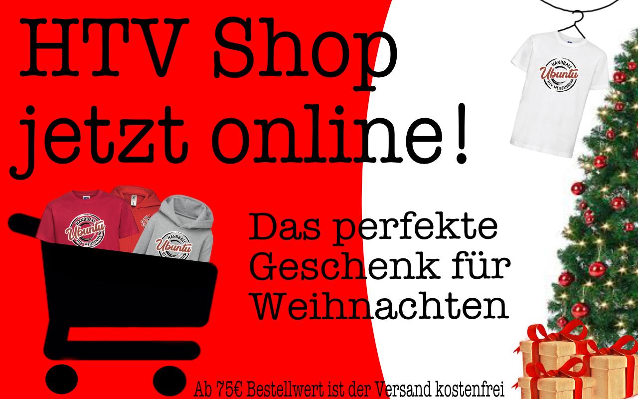 Neuer HTV-Shop online